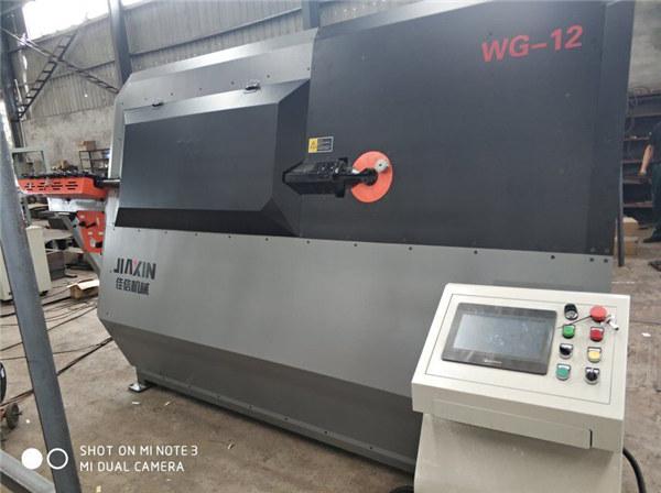 4-12 мм хидравличен автоматичен cnc 2D тел машина за огъване машина