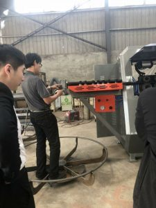 Клиент посещение фабрика