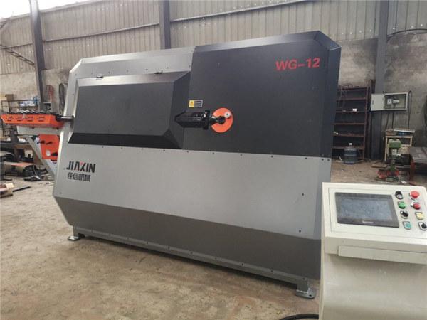 фабрика желязна пръчка CNC автоматични стълбове стягане машина