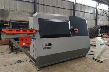 хидравлична автоматична машина за огъване на метални телчета от 2 канала